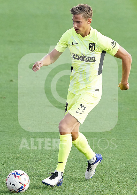 Atletico de Madrid's Marcos Llorente during La Liga match. September 30,2020. (ALTERPHOTOS/Acero)