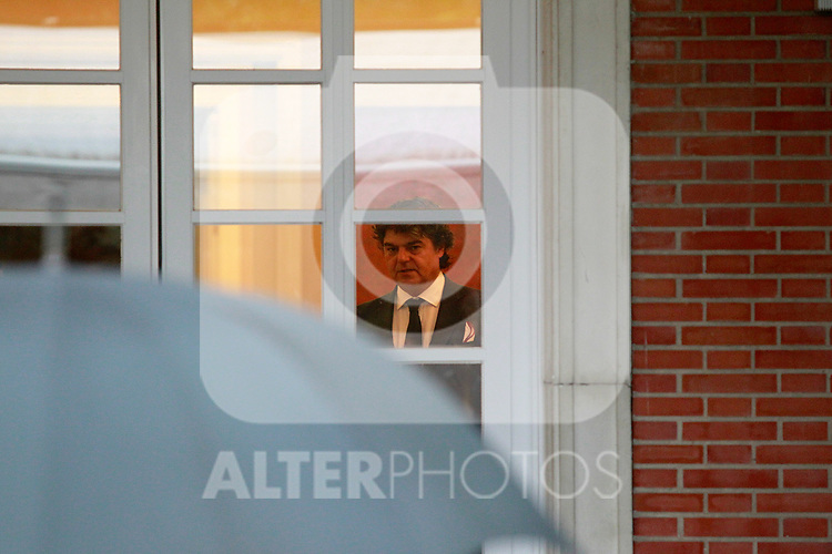 Jorge Moragas, Director of the Cabinet of the Presidency of the Government of Spain waiting for meeting with The President of the Government of Spain, Mariano Rajoy and the Secretary General of the PSOE (Spanish Socialist Workers Party) Pedro Sanchez. July 6, 2017. (ALTERPHOTOS/Acero)