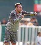 11.01.2020 Rangers v Lokomotiv Tashkent, Sevens Stadium, Dubai:<br /> Michael Beale