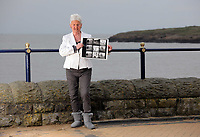 Pictured: Pat Stewart at Barry, south Wales, holding a contact sheet from the photo-shoot in Blackpool by Bert Hardy dated 1951.<br /> Re: 77 year old Pat Stewart (nee Wilson) who now lives near Llantwit Major in the Vale of Glamorgan, south Wales claims she is one of the two young ladies in an iconic image taken by photographer Bert Hardy at Blackpool Promenade in July 1951, alongside fellow Tiller girl Wendy Clarke. Stewart is alleging that another woman, Norma Edmondson who has been claiming that it is her in the picture, is a fraud.<br /> PLEASE NOTE THAT THE IMAGE SHOWN OF PAT STEWART AND WENDY CLARK ON MANY ITEMS (CONTACT SHEETS, MUGS, COVERS, BOOKS, MAGAZINES ETC) WAS TAKEN BY PHOTOGRAPHER BERT HARDY AND IS CURRENTLY BEING SYNDICATED BY GETTY IMAGES WHO OWN ITS COPYRIGHT. IT IS SUPPLIED ONLY TO SUPPORT PAT STEWART'S CLAIMS