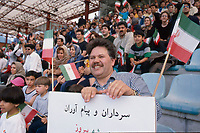 1998 per la preparazione ai campionati mondiali di calcio la nazionale dell'Iran aveva giocato sul campo di Como contro l'Inter. Molte le tifose iraniane sugli spalti