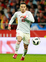 Spain's Thiago Alcantara during international friendly match. March 27,2018. *** Local Caption *** © pixathlon<br /> Contact: +49-40-22 63 02 60 , info@pixathlon.de