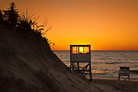 Sunrise at Nauset Beach, Orleans, Cape Cod, MA, USA