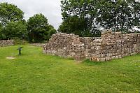 Cumbria, England, UK.  Banks East Turret, Hadrian's Wall.