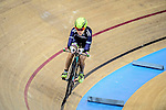 Hui Yat Nga of team X SPEED during the Indiviual Pursuit Women Qualifying (2 KM) Track Cycling Race 2016-17 Series 3 at the Hong Kong Velodrome on February 4, 2017 in Hong Kong, China. Photo by Marcio Rodrigo Machado / Power Sport Images