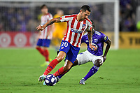 Orlando, FL - Wednesday July 31, 2019:  Vitolo #20 during the Major League Soccer (MLS) All-Star match between the MLS All-Stars and Atletico Madrid at Exploria Stadium.