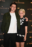 """PASADENA, CA - JUNE 7: Nick Robinson and Kate Mara attend FX's """"A  TEACHER"""" FYC Drive-In Screening And Panel at the Rose Bowl on June 7, 2021 in Pasadena, California. (Photo by Frank Micelotta/FX/PictureGroup)"""