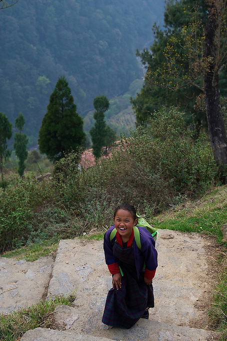 On the way to Trongsa, Bhutan