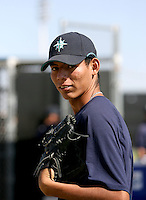 Jose Valdivia / Seattle Mariners 2008 Instructional League..Photo by:  Bill Mitchell/Four Seam Images