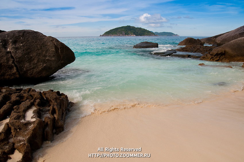 Ko Bangu beach, Similan islands