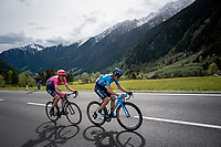 Mikel Landa (ESP/Movistar)<br /> <br /> Stage 17: Commezzadura (Val di Sole) to Anterselva/Antholz (181km)<br /> 102nd Giro d'Italia 2019<br /> <br /> ©kramon
