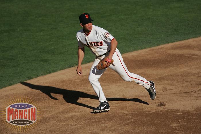 Omar Vizquel. Baseball: Oakland Athletics vs San Francisco Giants at AT&T Park in San Francisco on May 21, 2005.