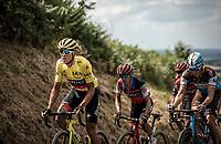 yellow jersey Greg Van Avermaet (BEL/BMC)<br /> <br /> Stage 5: Lorient > Quimper (203km)<br /> <br /> 105th Tour de France 2018<br /> ©kramon