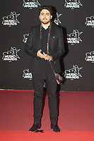 Nazim sur le Tapis Rouge / Red Carpet avant la Ceremonie des 19 EME NRJ MUSIC AWARDS 2017, Palais des Festivals et des Congres, Cannes Sud de la France, samedi 4 novembre 2017.