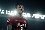 Guangzhou Defender Zhang Linpeng in action during the AFC Champions League 2017 Quarter-Finals match between Guangzhou Evergrande (CHN) vs Shanghai SIPG (CHN) at the Tianhe Stadium on 12 September 2017 in Guangzhou, China. Photo by Marcio Rodrigo Machado / Power Sport Images