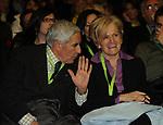 FRANCO MARINI, LIVIA TURCO<br /> ASSEMBLEA NAZIONALE PARTITO DEMOCRATICO<br /> FIERA DI ROMA - 2009