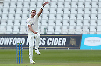 Stuart Broad of Nottinghamshire in bowling action during Nottinghamshire CCC vs Essex CCC, LV Insurance County Championship Group 1 Cricket at Trent Bridge on 6th May 2021