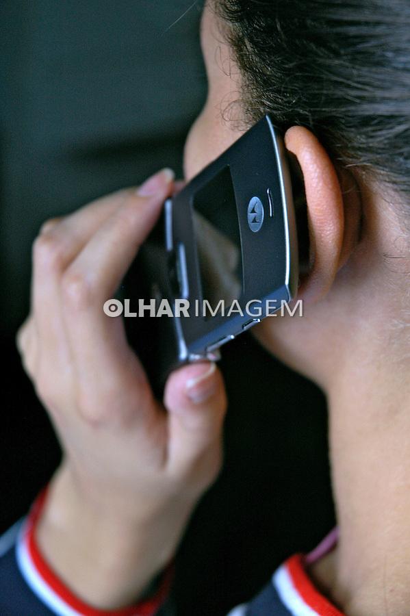 Telefone celular. Foto de Manuel Lourenço.