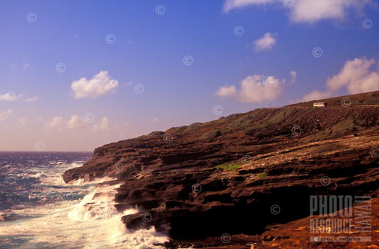 Coastal scenic along the Kalaniana'ole Highway on Oahu