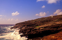 Coastal scenic along the Kalaniana'ole Highway on Oahu