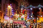 Santa at the Christmas parade in Killarney on Saturday night.