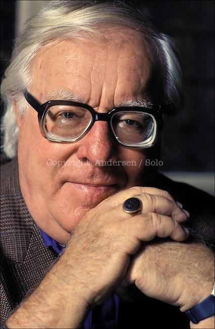 Ray Bradbury in 1990.