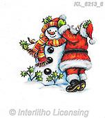 CHRISTMAS SANTA, SNOWMAN, WEIHNACHTSMÄNNER, SCHNEEMÄNNER, PAPÁ NOEL, MUÑECOS DE NIEVE, paintings+++++,KL6213/6,#x# ,sticker,stickers