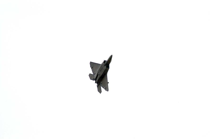 AJ Alexander - F-22 Raptor advanced tactical fighter aircraft..Photo by AJ Alexander