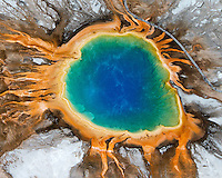 Yellowstone Aerial Photos 2013