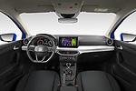 Stock photo of straight dashboard view of 2022 Seat Ibiza Move!-+ 5 Door Hatchback Dashboard