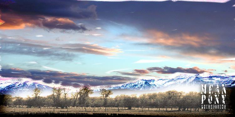 Mt. Timpanogos, Wasatch County panorama.