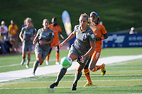 Allison Falk (3) of the Philadelphia Independence. The Philadelphia Independence defeated Sky Blue FC 2-1 during a Women's Professional Soccer (WPS) match at John A. Farrell Stadium in West Chester, PA, on June 6, 2010.
