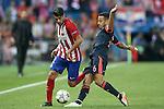 Atletico de Madrid's Augusto Fernandez (l) and FC Bayern Munchen's Thiago Alcantara during Champions League 2015/2016 Semi-Finals 1st leg match. April 27,2016. (ALTERPHOTOS/Acero)
