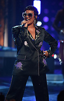 """HOLLYWOOD, CA - MAY 27: Demi Lovato performs onstage at the 2021 """"iHeartRadio Music Awards"""" airing live from The Dolby Theatre in Los Angeles, Thursday, May 27 (8:00-10:00 PM ET live / PT tape-delayed) on FOX.  (Photo by Frank Micelotta/FOX/PictureGroup)"""