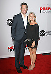 James Denton and wife Erin O'Brien Denton at The Desperate Housewives' Final Season Kick-Off Party held at Wisteria Lane in Universal Studios in Universal City, California on September 21,2010                                                                               © 2011 Hollywood Press Agency