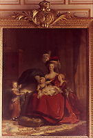 Vigee-Le Brun 1755-1842.  Marie-Antoinette et ses enfants.  Reference only.