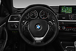 Car pictures of steering wheel view of a 2018 BMW 4 Series 430i 2 Door Coupe