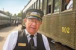 Essex, CT Steam Train excursion. Stew McMillan- Valley Railroad Trainman.