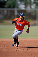 Miami Marlins Luis Pintor (2) during a Minor League Spring Training Intrasquad game on March 27, 2018 at the Roger Dean Stadium Complex in Jupiter, Florida.  (Mike Janes/Four Seam Images)