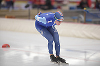 SPEEDSKATING: INZELL: Max Aicher Arena, 09-02-2019, ISU World Single Distances Speed Skating Championships, 10.000m Men, Ole Bjørnsmoen Næss (NOR), ©photo Martin de Jong