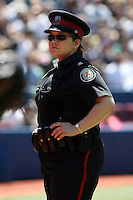 May 25, 2008:  A security guard for the Toronto Blue Jays during a game at the Rogers Centre in Toronto, Ontario, Canada .  Photo by:  Mike Janes/Four Seam Images