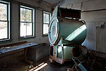 A Giant Industrial Washing Machine in the Old Grossingers Resort in the Catskills of New York