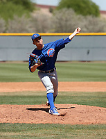 Ruben Reyes - Chicago Cubs 2019 extended spring training (Bill Mitchell)