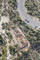 straight down view of Mesa Verde kiva