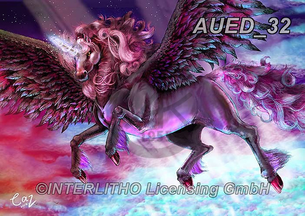 Carlie, REALISTIC ANIMALS, REALISTISCHE TIERE, ANIMALES REALISTICOS, paintings+++++Twilight-Unicorn,AUED32,#A#, EVERYDAY