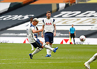 28th August 2020; Tottenham Hotspur Stadium, London, England; Pre-season football friendly; Tottenham Hotspur v Reading FC; Erik Lamela of Tottenham Hotspur takes a free kick to score his sides 4th goal in the 52nd minute to make it 4-0