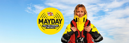 The RNLI's Mayday campaign begins on Saturday 1 May and runs throughout the month