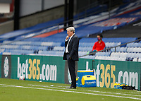 5th September 2020; Selhurst Park, London, England; Pre Season Friendly Football, Crystal Palace versus Brondby; Crystal Palace Manager Roy Hodgson looks on from the touchline
