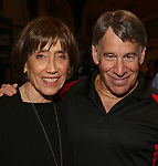 "Susan Birkenhead and Stephen Schwartz attend the Opening Night performance afterparty for ENCORES! Off-Center production of ""Working - A Musical""  at New York City Center on June 26, 2019 in New York City."