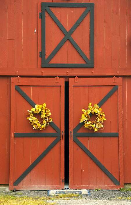 I thought these barn doors made for a interesting and graphic image.